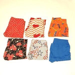 6 pairs of LuLaRoe leggings